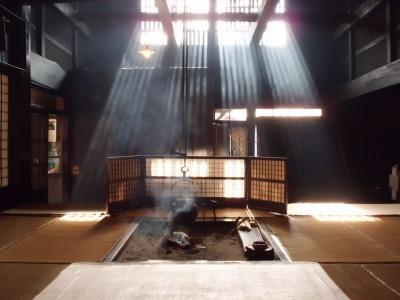囲炉裏の光景・・・11月中旬